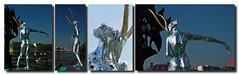 Des reflets changeants suivant le point de vue (mamnic47 - Over 6 millions views.Thks!) Tags: paris sculptures pontdesarts passerelledesarts laseine danielhourd lapasserelleenchante img0813m