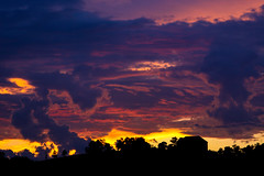 Before the storm (Shutter Photography of Bedford Va) Tags: clouds storms sunset bedfordva canon50d silhouette