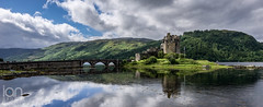 Eilean Donan Castle (ianbrodie1) Tags: eilean donan castle scottish highland scotland water landscape reflections history old kyle lockalsh bridge isle skye dornie cloud