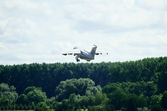 British Aerospace 146-100 (Lutz Blohm) Tags: britishaerospace146100 jumbolino businessjet bernieecclestone gofoa airportspeyer flughafenspeyer fe70300goss sonyalpha7aii formel1