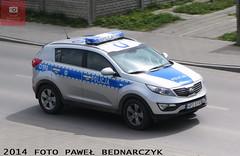D190 - Kia Sportage - KP Beyce (pawelbednarczyk) Tags: d013 daewoo korando d159 fiat ducato d140 d172 skoda octavia d123 opel astra ii d193 d190 kia sportage d152 corsa d176 aro 245 d173 ford transit d189 fso polonez beyce lubelskie policja radiowz radiowozy komisariat policji hpd