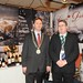 Showtel Martin Fagan, Classic Drinks and Stephen McNally, IHF President
