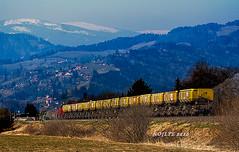 Abraumzug, GKB (LTE 1216) Tags: train canon tren austria sterreich diesel dump eisenbahn treno steiermark diesellok 100400 gkb 17001 g1700 1000d grazkflacherbahn vsft