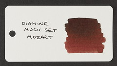 Diamine Music Set Mozart - Word Card