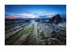 Asturias, Spain (mofeed65 (in Kuwait)) Tags: sunset sea sky seascape beach nature water spain nikon roc