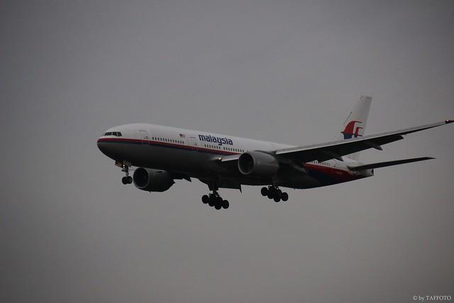 Malaysia Air 9M-MRF (FRA)