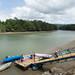 Puerto Quimba com maré baixa