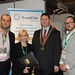 Showtel Mark Haywood, Jacqueline Reid & Bram Van Berkel, TravelClick and Stephen McNally, IHF President
