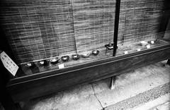 KYOTO 1974 - with my friends - (Jussi Salmiakkinen (JUNJI SUDA)) Tags: autumn windows bw monochrome japan shop analog vintage 1974 kyoto shrine sightseeing nostalgia  70s  kioto kansai japani      70  tenple blackwhie  1974 20   47