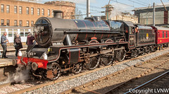 Ex LMS 'Jubilee' Class, 45690 'Leander' (LVNWtransFoto) Tags: jubilee steam locomotive preserved carlisle leander lms 45690 canoneos1dmkiii