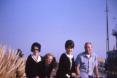 Happy Family?  1962-63 (candyruth) Tags: sandiego bighair missionbay 1963 happyfamily vacationvillage