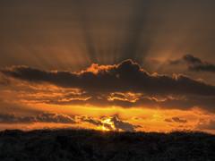 Sunset on Alderney