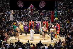 Sumo in Osaka-44 (Rodrigo Ramirez Photography) Tags: japan amazing traditional professional tournament osaka sumo yokozuna ozeki makuuchi hakuho sumotori sumotournament maegashira reikishi harumafuji topdivision