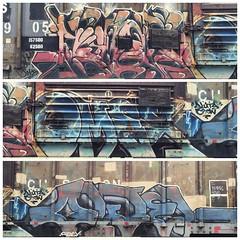 Riles Omex Owel (MC. Squared) Tags: graffiti freight omex owel riles