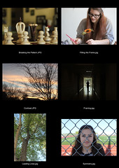 Perspective Contact Sheet (amyhector113) Tags: door light sunset shadow red portrait sky orange white black flower tree green girl up leaves lines silhouette wall closeup contrast dark hair glasses gate pattern pieces edited chess symmetry hallway backpack sheet contact contactsheet breaking floes breakingthepattern