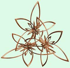 3 Knots / 3つの結び目 (TANAKA Juuyoh (田中十洋)) Tags: knot 結び目 むすびめ ノット mathematica 3d cg parametricplot3d texture code program algorithm abstruct graphic design pattern structure mapping figure プログラム コード アルゴリズム テクスチャ マッピング 模様 もよう 抽象 ちゅうしょう アブストラクト グラフィック グラフィクス パターン デザイン 意匠 いしょう 構造 こうぞう 図形 ずけい symmetry 対称性 たいしょうせい シンメトリー 対称 たいしょう