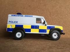 Corgi Vanguards Police Land Rover - PSNI Police Service Northern Ireland - Miniature Die Cast Scale Model Emergency Services Vehicle (firehouse.ie) Tags: ireland corgi police rover land ni northern ulster ruc psni