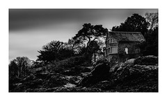 Grey atmosphere (sviet73) Tags: france pose bretagne cte paysage maison falaise rocher dinard longue