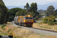 12 January 2015 TR15 TR02 246 loaded coal Perth (RailWA) Tags: perth tasmania coal loaded 246 tasrail railwa tr15 tr02 philmelling
