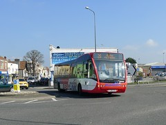 YJ58CEK Webberbus , Bridgwater (neiljennings51) Tags: bus 26 wells somerset service versa westonsupermare weston psv pcv bridgwater optare webberbus