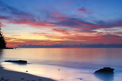 Just Another Morning (Yudho Wiratomo) Tags: beach sunrise indonesia pantai kalimantan balikpapan manggar kaltim