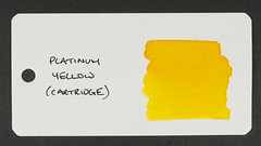 Platinum Yellow - Word Card