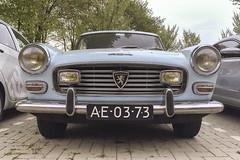 Peugeot 404 coupe AE-03-73 (Jan Sluijter) Tags: 404 coupe peugeot pininfarina peugeot404 ae0373