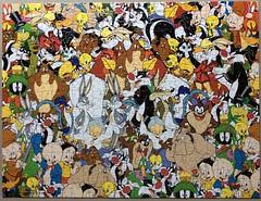 Looney Tunes / Impossipuzzle - B. V. Leisure - 550 Teile (.Francine) Tags: comic cartoon puzzle looney