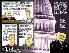 0516 del latta memorial cartoon (DSL art and photos) Tags: memorial congressman conservative obituary gop editorialcartoon bowlinggreenohio donlee dellatta republicsn sanfusky