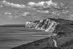 Freshwater Bay (CdL Creative) Tags: england monochrome canon geotagged eos unitedkingdom hampshire isleofwight gb hdr freshwaterbay 70d cdlcreative po39 geo:lat=506696 geo:lon=15122