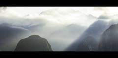 Early Morning Light, Machu Picchu (Geraint Rowland Photography) Tags: light mist mountains peru weather inca canon morninglight cusco machupicchu incatrail raysoflight naturephotography wonderoftheworld landscapephotography shadowandlight travelinperu geraintrowlandphotography anamorphicphotographybygeraintrowland machupicchuexperience