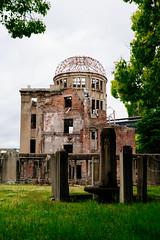 Atomic Bomb Dome () (sechsterangriff) Tags: travel japan unesco worldwarii jp ww2 japo hiroshimaken atomicbomb  hiroshimapeacememorial hiroshimashi  sigma35mmf14dghsm ilce7rm2 sigmamc11