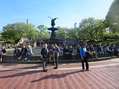 Bethesda Terrace and Fountain area of Central Park, New York City, Manhattan Island, USA (RYANISLAND) Tags: nyc newyorkcity pink flowers ny newyork flower japan japanese spring centralpark manhattan cherryblossom  sakura cherryblossoms newyorkstate matsuri japaneseculture nys springtime jpop sakuramatsuri  cherryblossomfestival centralparknyc manhattanisland japanday welcomespring japandaycentralpark peakbloom japandaynyc japanday2016