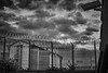 Stars Of CCTV HM Prision (Spudgun055) Tags: sky clouds cctv prison barbwire darkdays lockdown bangedup hmpleasure