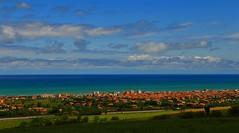 Adriatic coast _MG_1821m(1) (maxo1965) Tags: italy clouds coast marche