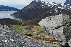Small village (TerjeLM) Tags: norway trekking norge hiking troms troms kvalya fottur trehrningen skulsfjorden