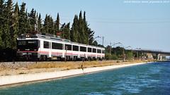 Trens i canals (tunel_argentera) Tags: tren train ferrocarril railway zug renfe adif 470 regional tortosa canal