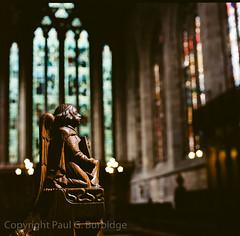 Scotland2016-45250010 (Paul Burbidge) Tags: color film scotland cathedral hasselblad dunblane 500cm ektar100