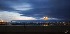 Sunset view at YYZ (A. Wee) Tags: sunset toronto canada airport view  yyz aircanada