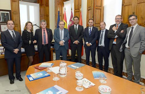 El secretario general de la Unión por el Mediterráneo muestra su apoyo al Campus Mare Nostrum (CMN)