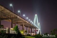 Arthur Ravenel Bridge Down Under (KIRK333) Tags: bridge sc photoshop coast arthur southcarolina charleston coastal adobe topaz lightroom ravenel on1