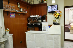 Sala Colazione (JuanJuel) Tags: italy station hotel italia gare central center sala napoli naples historical colombo centrale colazione
