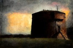 Martello Tower (sbox) Tags: ireland howth dublin painterly tower digital painting textures martello