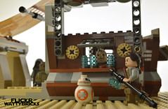 Actually... (WattyBricks) Tags: lego star wars episode vii the force awakens rey bb8 unkar plutt thug brute 75148 jakku niima outpost rations portions 60 droid for sale