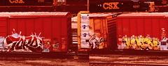 toro - keptoe (timetomakethepasta) Tags: toro freight train graffiti boxcar csx cnw class acts vrs keptoe gory ca mta icp sts jurne keb
