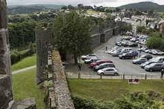 20160616-UK Trip-Conwy Castle-0014 (kuminiac) Tags: 2016 wales conwy castle conwy castle towers dungeons tower dungeon fortress town walls royal royals king edward i longshanks medieval snowdonia cymru knights scenery uk united kingdom
