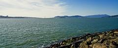 Golden Gate Bridge, Alcatraz & the Bay (<<Purple Bullet>>) Tags: golden gate alcatraz san francisco northern california treasure island seascape bridge sony a6000 ilce nex zeiss