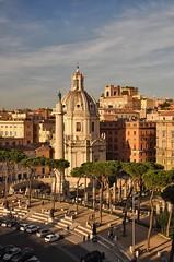 Ancient Rome. Emperor Trajan's Column in Trajan Forum, Fori Imperiali, Rome (mike catalonian) Tags: rome column foriimperiali trajan emperor ancientrome trajanforum