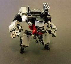 intruder class sensory warfare (Popsicle master) Tags: robot lego scifi mecha cyberpunk mech warfare drone