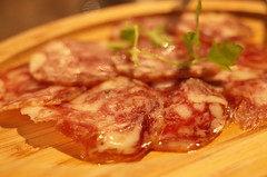 Il salame di iberico (HAMACHI!) Tags: food japan bar restaurant tokyo pork ibiza salami shimokitazawa 2016 iberico diningbar diningrestaurant